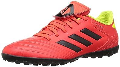wholesale dealer bda65 fd6ef adidas Mens Copa Tango 18.4 Turf Soccer Shoe redBlackSolar Yellow, 7