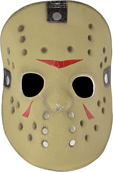 Friday the 13th Jason Voorhees Hockey Mask Foam Halloween Costume Accessory