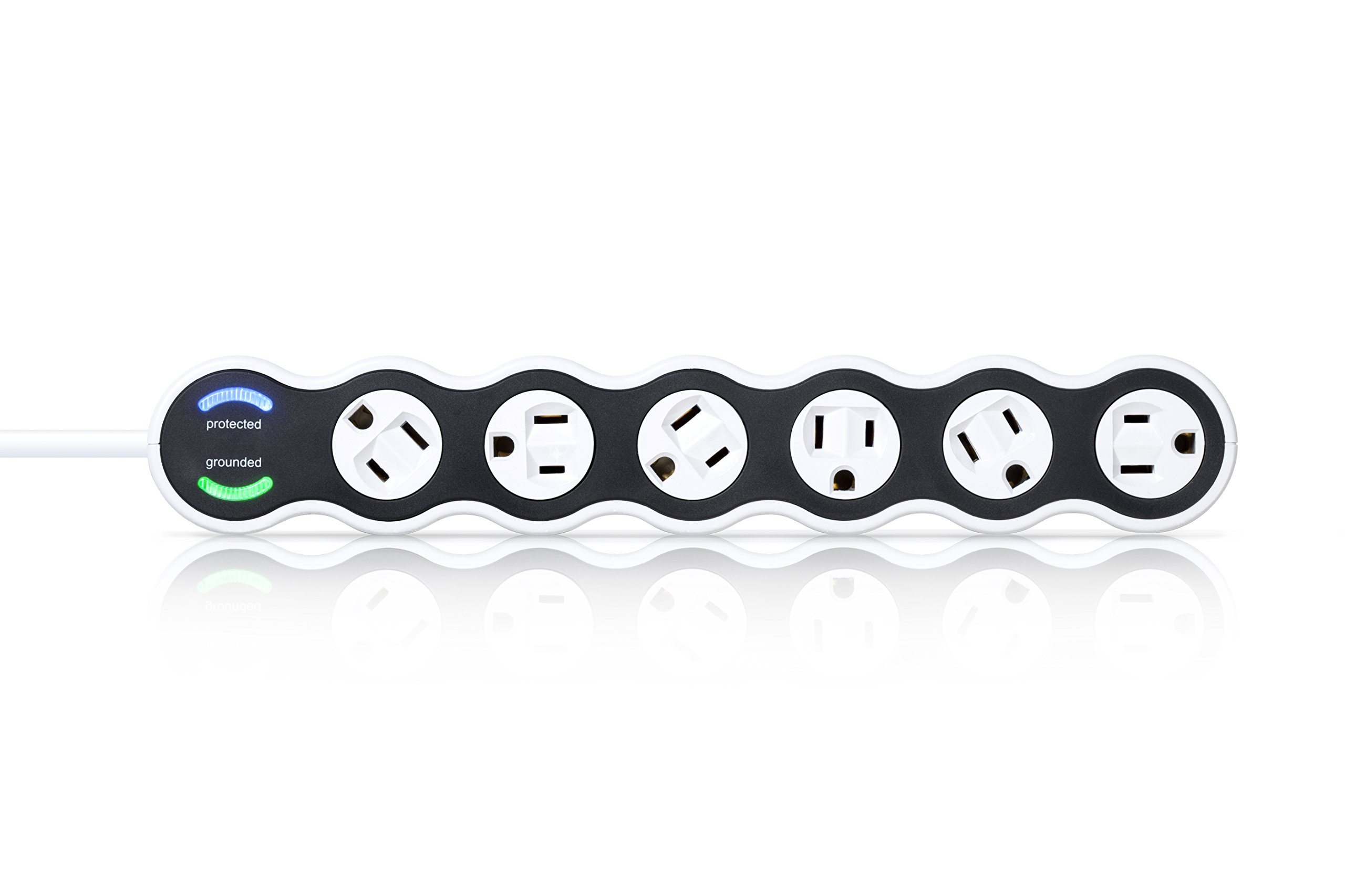 360 Electrical 36051 Power Curve 6 Outlet Surge Protector by 360 Electrical (Image #3)