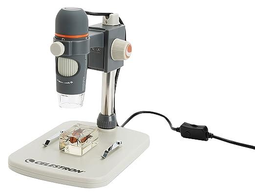 8 opinioni per Celestron CM44308 HDM Pro Microscopio Digitale, Sensore da 5 Megapixel,