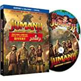 Jumanji : Bienvenue dans la jungle [Édition limitée incluant le film Jumanji de 1995 + Digital UltraViolet]