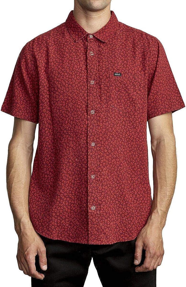 RVCA Men's Presidio Button-Up Shirt