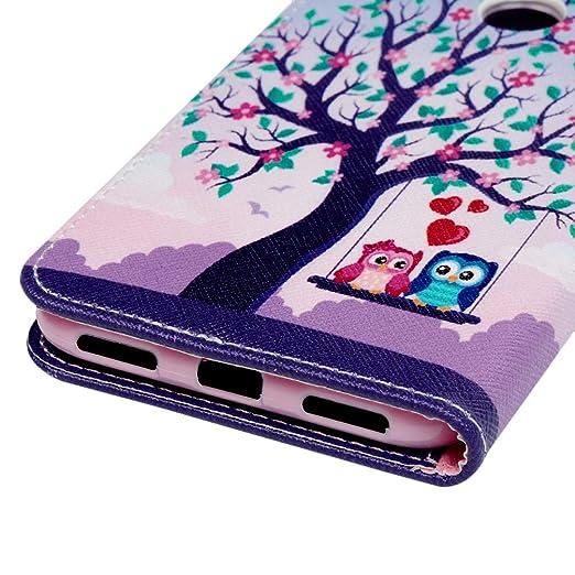 Honor 8A Handyh/ülle Kompatible f/ür Huawei Y6 2019 H/ülle Wallet Case Flip Cover PU Leder Tasche Malen Muster Flipcase Schutzh/ülle Handytasche Skin St/änder Klapph/ülle Schale Bumper M/ädchen-Eule