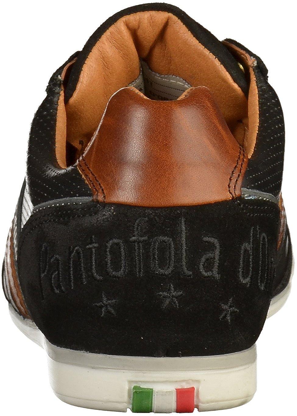 Pantofola Herren d'Oro Herren Vasto  Herren Pantofola Niedrig-Top schwarz (10181026.25y) bfccf3