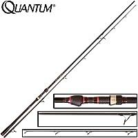 Quantum Unisex– Erwachsene Throttle Pike Lure, schwarz,rot, 2,70 m