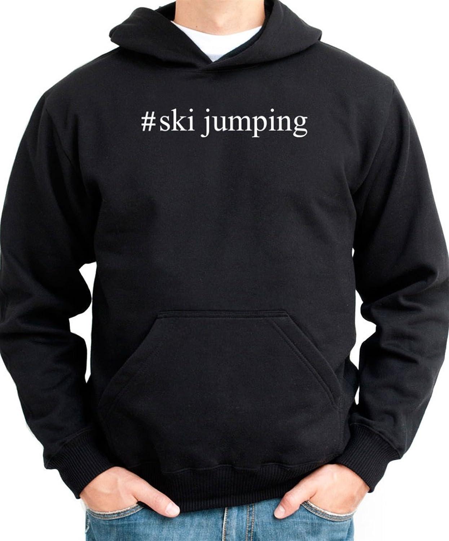 #Ski Jumping Hashtag Hoodie