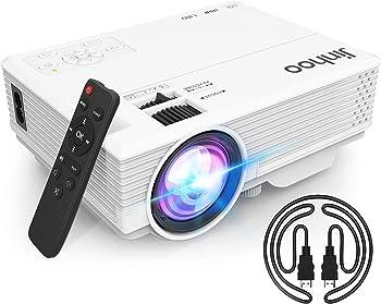 Jinhoo M20 720p 5500 LUX Mini Portable Projector