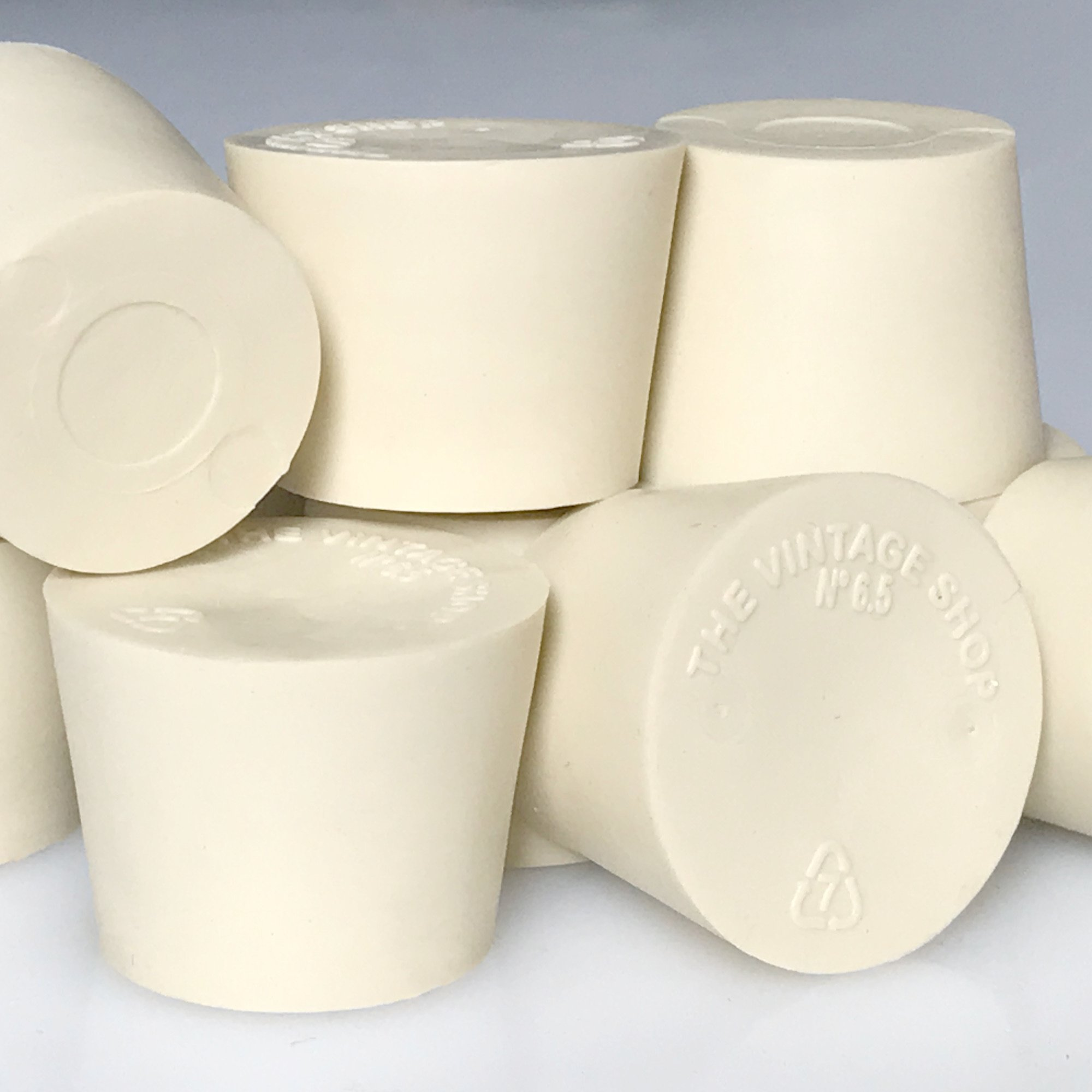 #6.5 Solid Rubber Stopper - 4-Pack