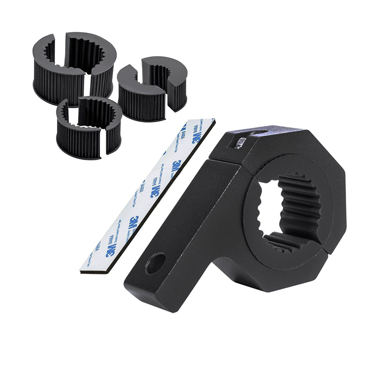 Clamps Mounts for Mounting LED Light Bars, Mounting Brackets for Roof Roll Cage Tube, 1'/ 1.5'/ 1.75'/ 2' Clamp Bar (2pcs) 1/ 1.5/ 1.75/ 2 Clamp Bar (2pcs) Vc