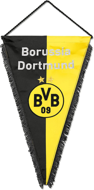 Borussia Dortmund Seidenwimpel Mit Bvb Logo One Size Amazon De Kuche Haushalt