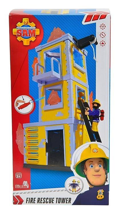 Amazon.com: Sam el bombero – grande Entrenamiento Torre ...