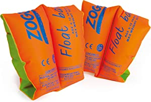 Zoggs Float Bands 1 to 3 Years, Up to 17Kg Red