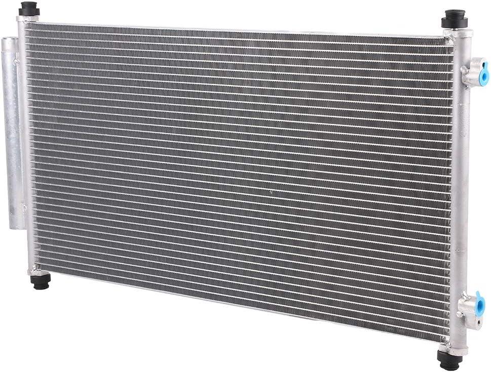 OCPTY Aluminum AC A//C Condenser Replacement fit for 2007-2011 Honda CR-V 2.4L l4 AC3599 3599