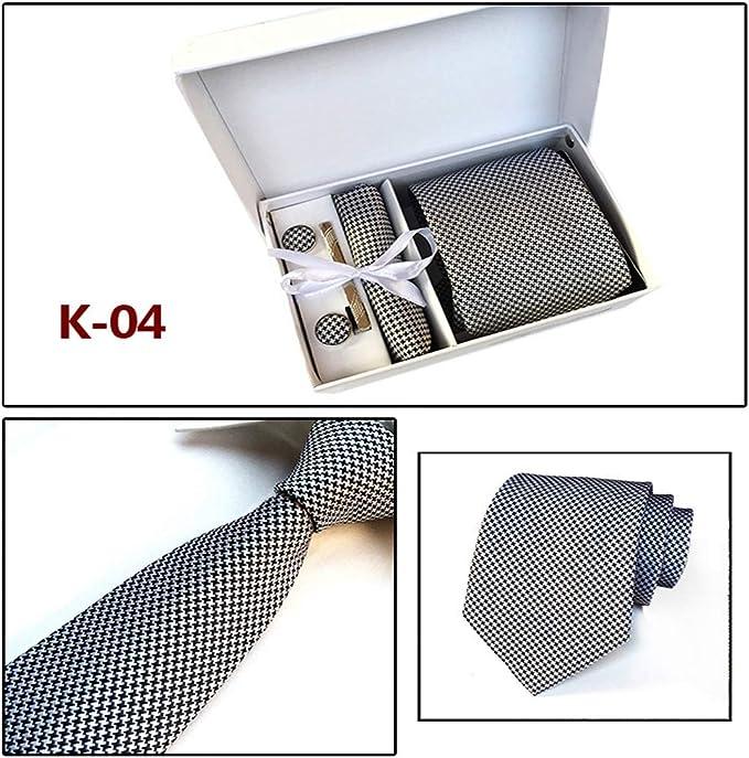 XiaoHeJD 2019 nueva caja de regalo para hombre corbatas ...