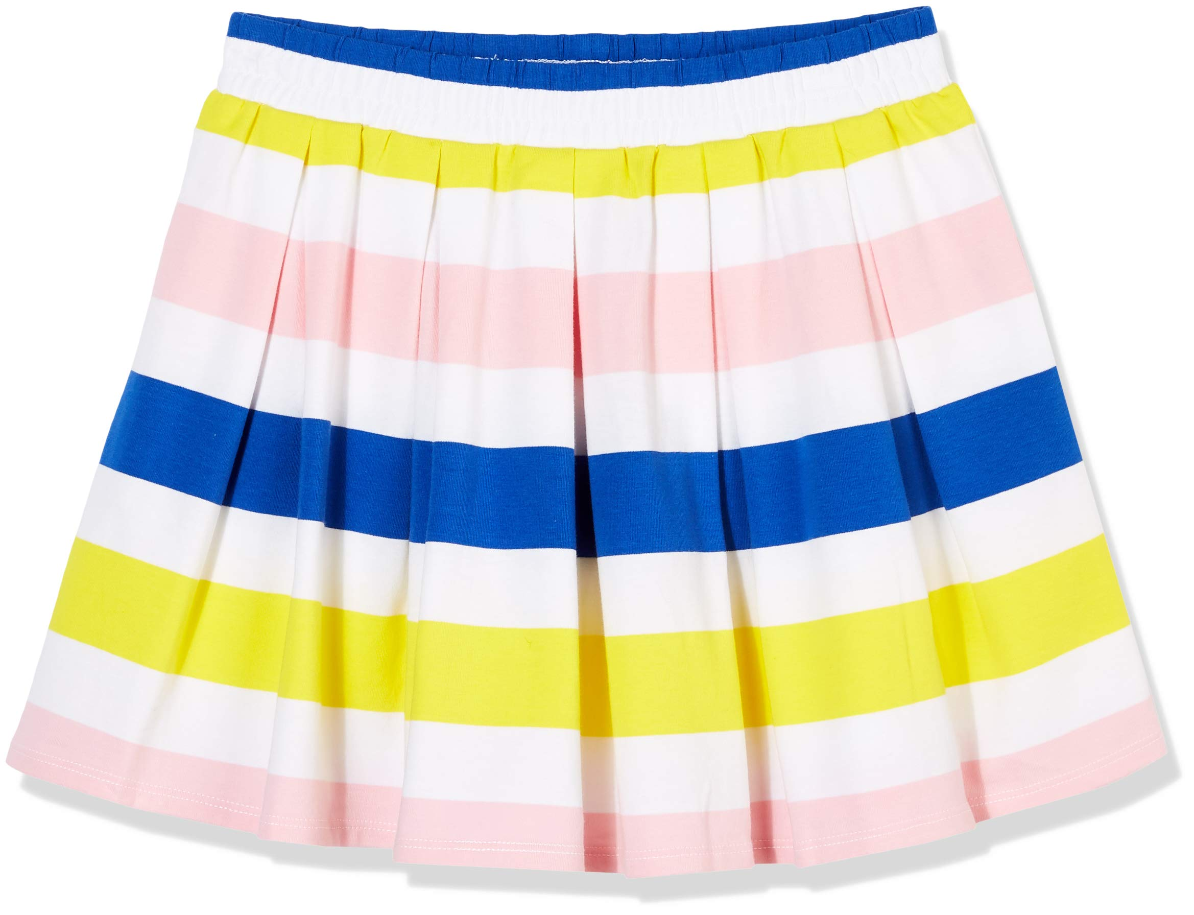 A for Awesome Girls Pleated Skirt Large Multi Stripe
