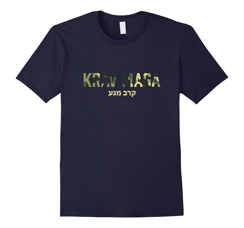 Krav Maga Israeli Army Martial Art Contact Combat T-Shirt-CD