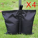 ABCCANOPY Industrial Grade Weight Bags,Leg Weights for Pop Up Gazebo (4x weight bags)
