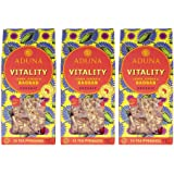 Aduna Vitality - Super-Tea with Organic Baobab, Ginger & Lemon - 15 Pyramids (Pack of 3)