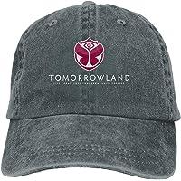 Qialia Tomorrowland Unisex Adult Cap Adjustable Cowboys Hats Baseball Cap Fun Casquette Cap Black