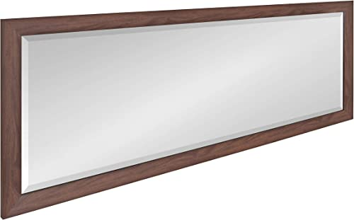 DesignOvation Beatrice Transitional Framed Panel Wall Mirror