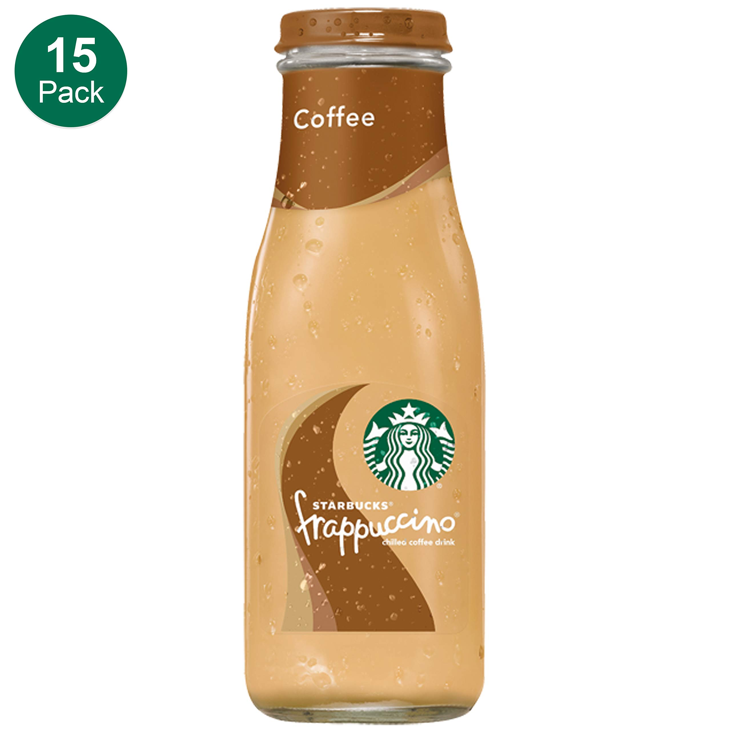 Starbucks Frappuccino, Coffee, 9.5 Fl. Oz (15 Count) Glass Bottles by Starbucks