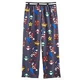 Nintendo Super Mario Boy's Flannel Pajama Pants
