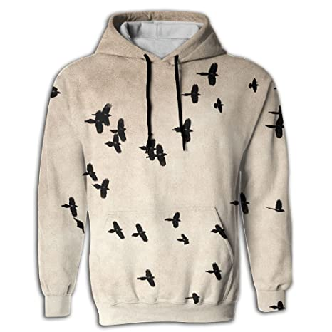 3befe407fdd1 Free Flying Birds Men s Sweatshirt 3D Print Hoodies With Pockets Pullover  Hooded