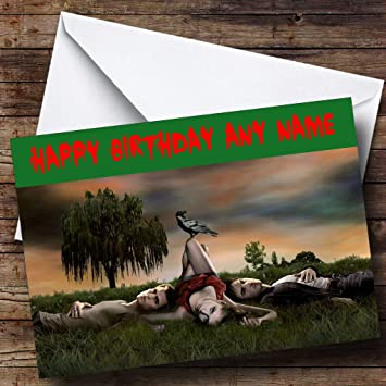 Personalised Vampire Diaries Birthday Card Amazon Office