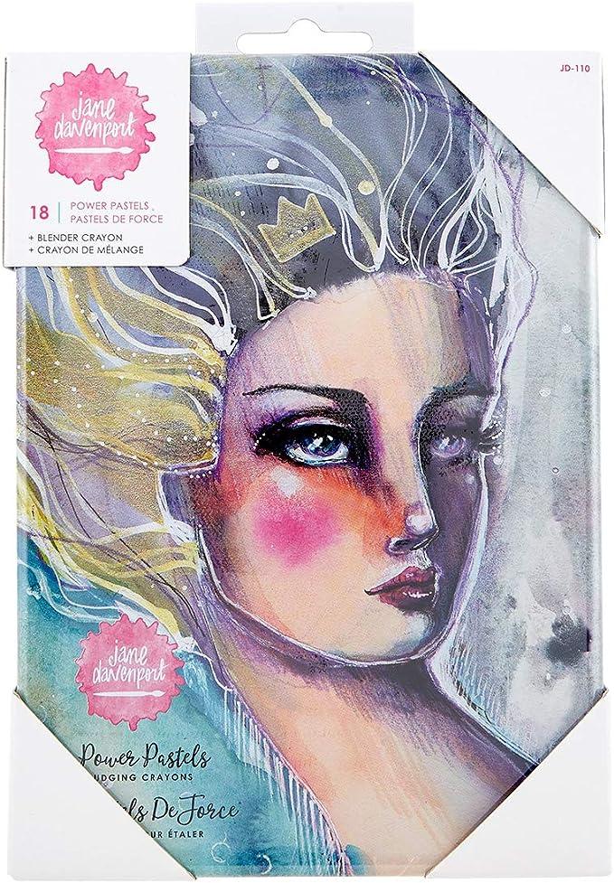 Blender Crayon 18 Pcs 320851 Jane Davenport Power Pastels