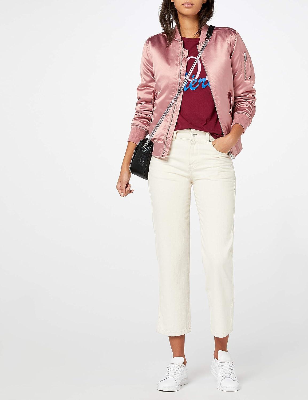 Urban Classics Damen Jacke Ladies Satin Bomber Jacket  Amazon.de  Bekleidung 2dc92559c2