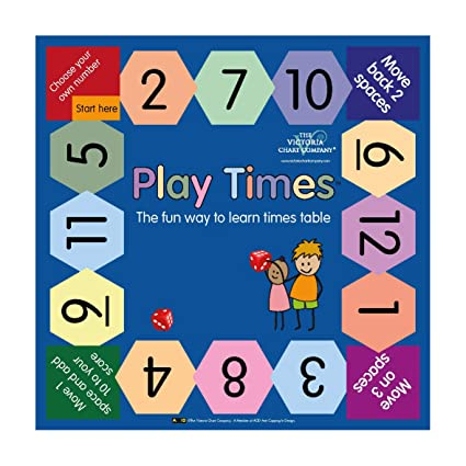 Admirable Amazon Com Play Times Table Game The Fun Way To Learn Home Interior And Landscaping Elinuenasavecom