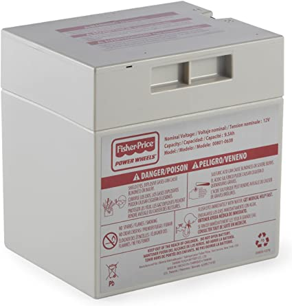 Power Wheels 12V Battery for Cadillac Escalade X3419 Fisher Price