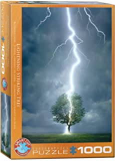 Eurographics Lighting Striking Tree 1000-Piece Puzzle