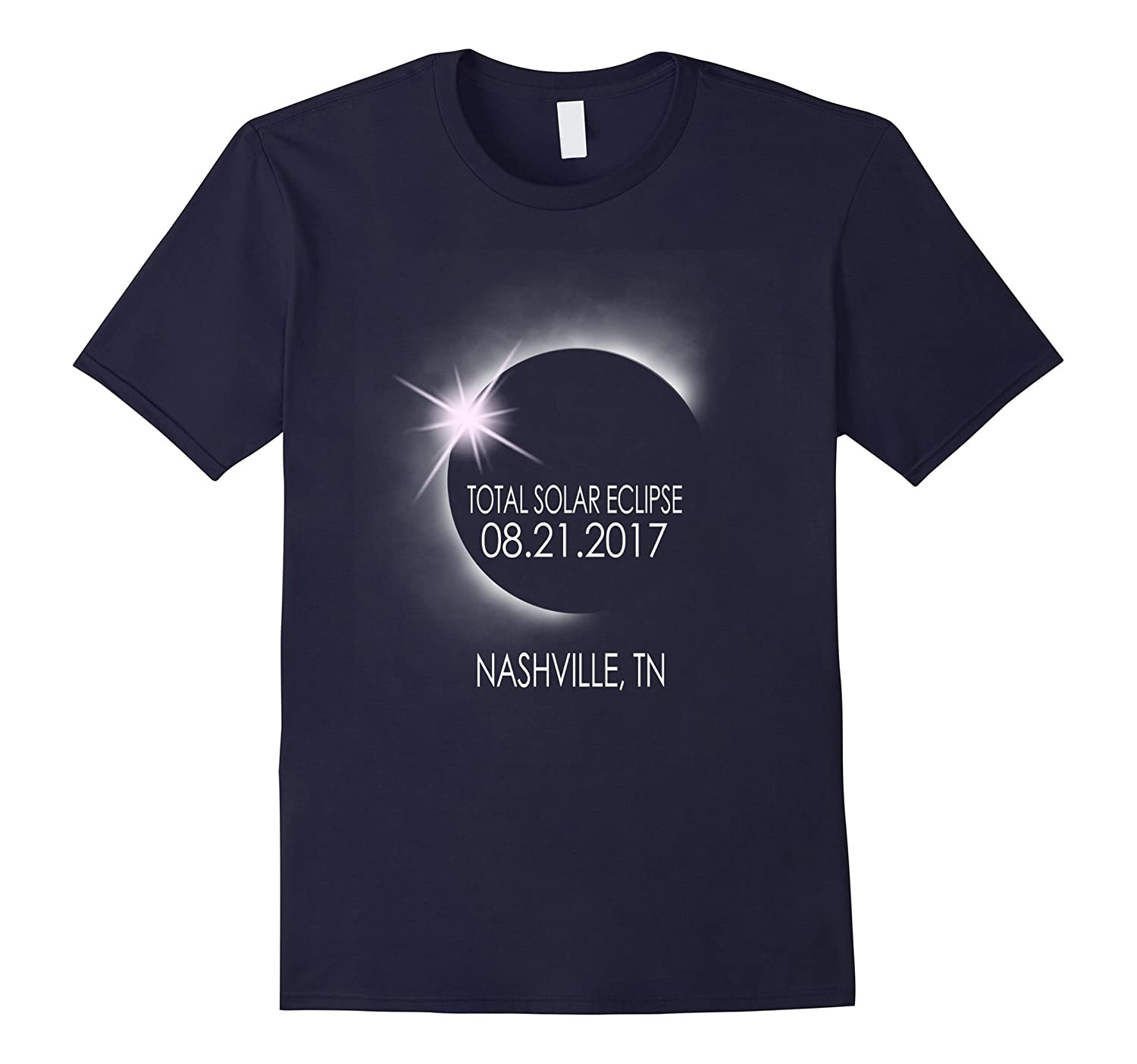 Nashville,Tennessee Solar Eclipse August 21 2017 T Shirt-CL