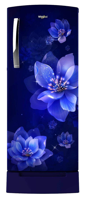 Whirlpool 200 L 4 Star Inverter Direct-Cool Single Door Refrigerator (215 ICEMAGIC PRO ROY 4S INV, Sapphire Mulia, Base Stand)