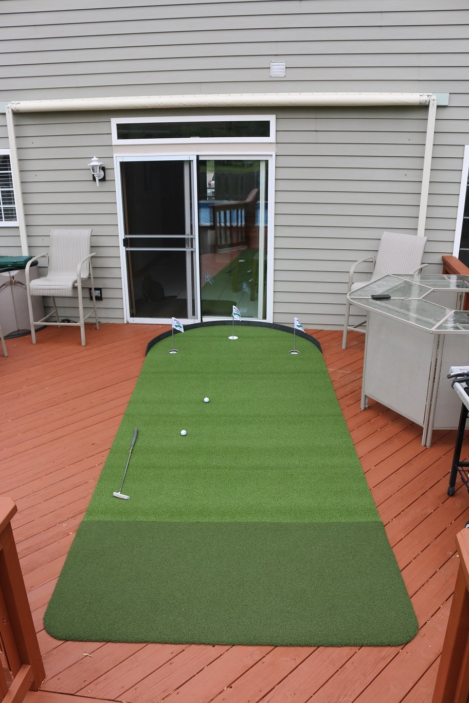 Big Moss Golf Commander 6 X 15 Practice Putting Chipping