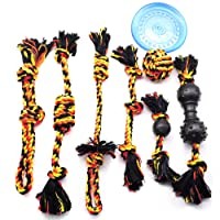 Dog Toys Dog Rope Toy For Aggressive Chewers Large Breed, Tough Rope Dog Toys Puppy Teething Chew Toys For Puppies Small Medium, Indestructible Puppy Toys For Boredom, Durable Dog Tug Of War Toy Rope