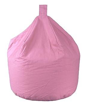 Magnificent Better Dreams Childrens Bean Bags Light Pink 100 Cotton Fire Retardant Kids Bean Bag 50Cm Wide X 62Cm High Approx 3 Cubic Foot Unemploymentrelief Wooden Chair Designs For Living Room Unemploymentrelieforg