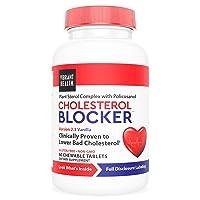 Vibrant Health, Cholesterol Blocker, Plant Sterol Complex, Vanilla, 60 Chewable...