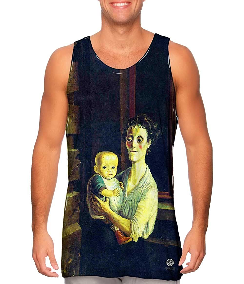 -Tshirt- Mens Tank Top Yizzam- Otto Dix Mother with Child 1921