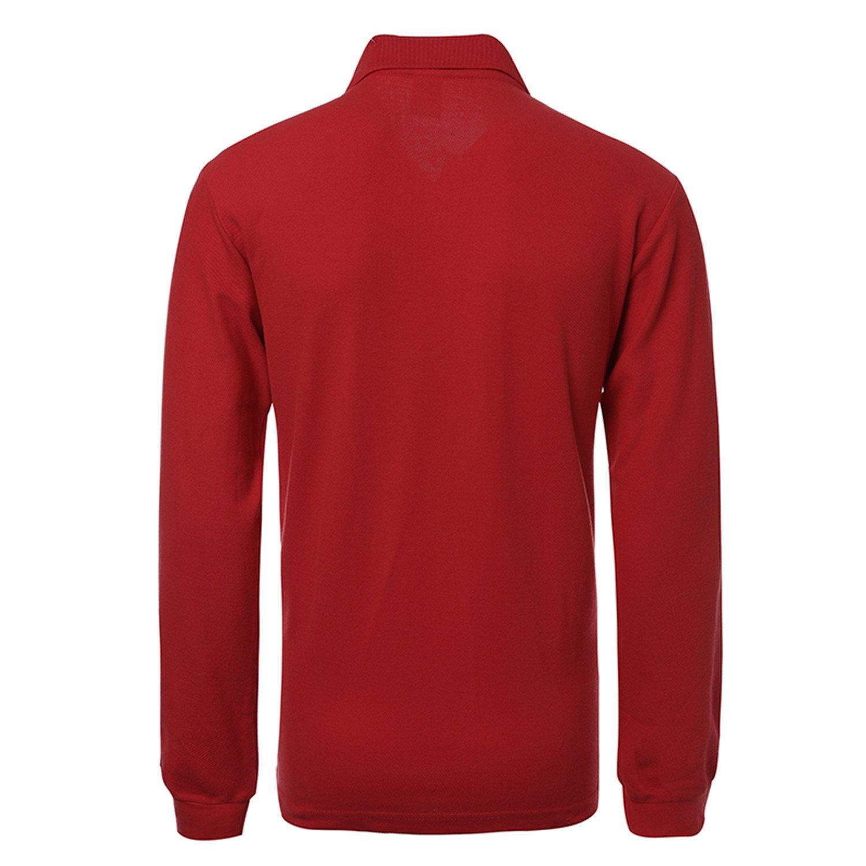 David Nadeau New Polo Hombre Shirt Men Shirts Long Sleeve Plus Size Polos Sweatshirts at Amazon Mens Clothing store: