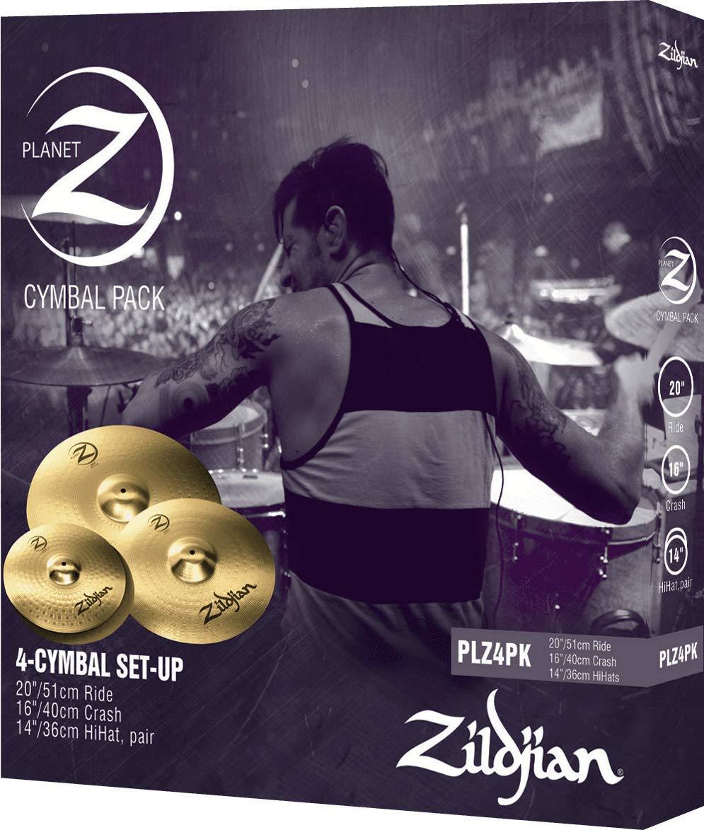 Zildjian Planet Z 4 Cymbal Set (14'' pr, 16'', 20'') by Avedis Zildjian Company