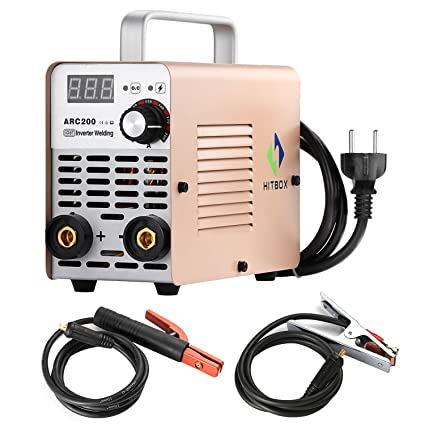 ARC Welder 200A Stick DC 220V soldadora Inverter MMA200 ZX7 Rod ...