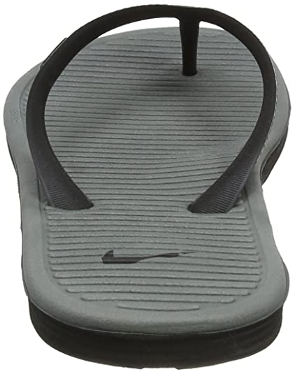 8dd957a7f36 Nike Solarsoft Thong II Black Grey Men s Sandals Flip Flops Size 11  Buy  Online at Low Prices in India - Amazon.in