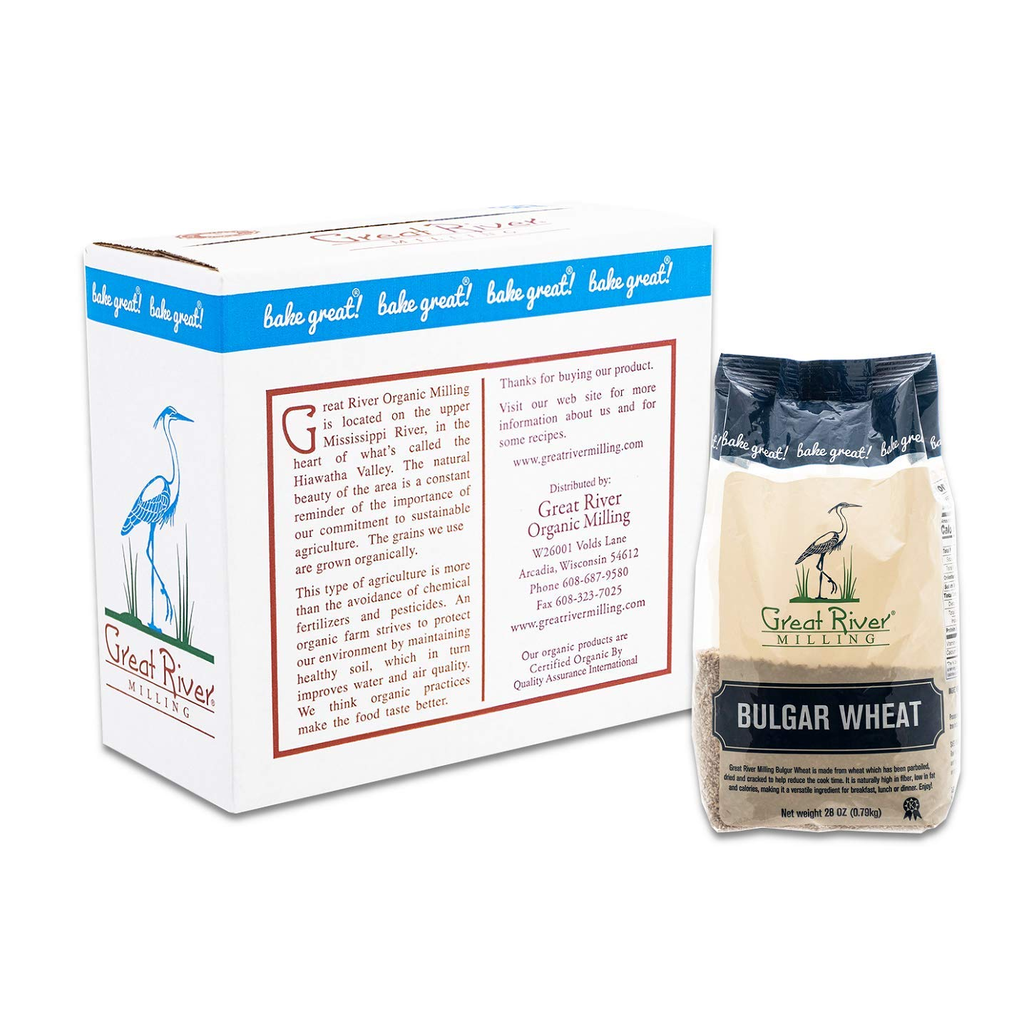 Great River Milling, Bulgar Wheat, Non-Organic, 28 Ounces (Pack of 4): Amazon.com: Grocery & Gourmet Food
