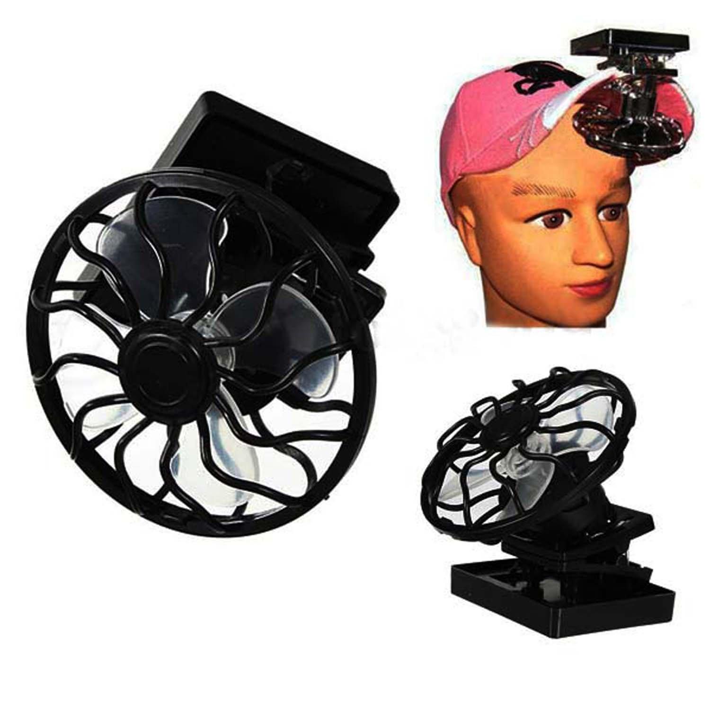 Portable Mini Solar Sun Powered Clip Fan Cooling Fan Outdoor Hat Clip-on Fan & Cooling Fan Energy Saving (MFAN003) by Mruiks (Image #2)