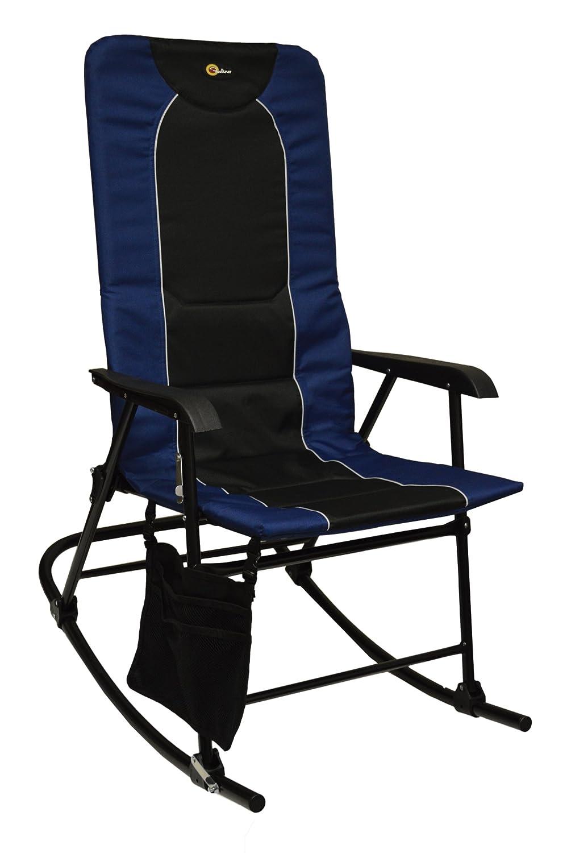 Amazon.com : Faulkner 49598 Dakota Rocking Chair, Blue/Black : Garden U0026  Outdoor