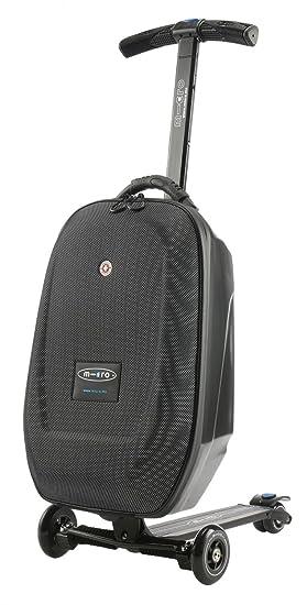Micro ML0005 - Micro Luggage Maleta patinete, Equipaje de Mano, 26litros, Manillar regulable en altura, Plataforma antidesllizante, Giro 45º, Plegado ...