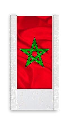Lámpara de mesa Bandera Marruecos: Amazon.es: Iluminación