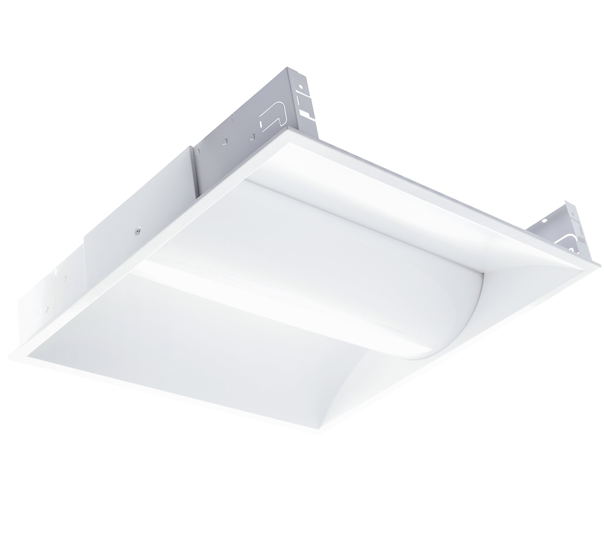 Westgate Lighting LED Troffer Light- LM79 & LM80 Tested - ROHS Compliant - UL Listed - IP20 Rating- 100-277V AC (40W, 5000K Matt White) by Westgate